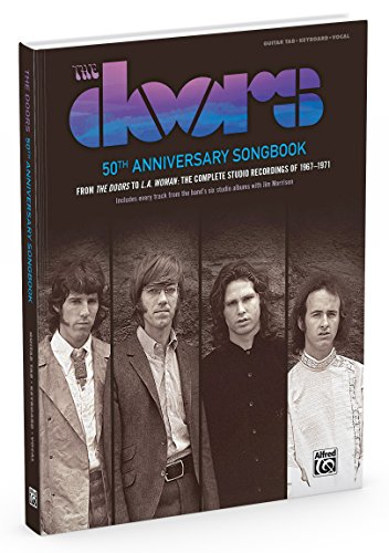 The Doors: 50th Anniversary Songbook Edition: From The Doors to L.A. Woman: The Complete Studio Recordings of 1967-1971 (Popular)