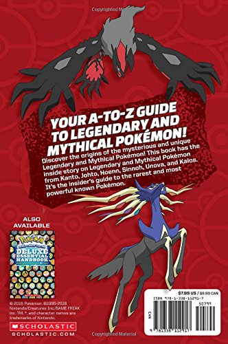 Image of Official Guide to Legendary and Mythical Pokemon