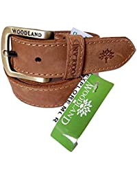 Woodland Men's leather belt size 34