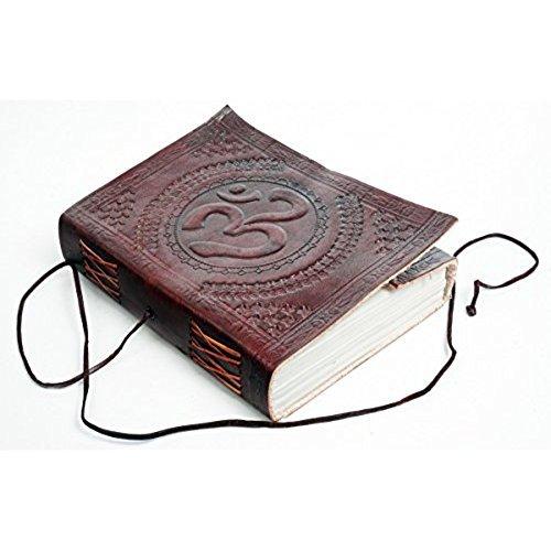 Zap Impex  B5 Leder Om förmigen dunkelbraun Tagebuch Sketch Notebook Sammelalbum Persönliche...