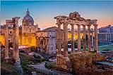 Posterlounge Forex-Platte 180 x 120 cm: Das Forum Romanum von Age fotostock/Mauritius Images
