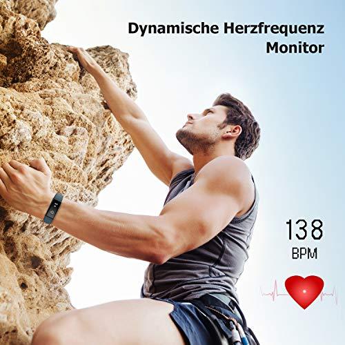 Letsfit ID130PlusHR Fitness Tracker - 4