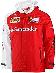 Puma Scuderia Ferrari SF Team chaqueta Ferrari Fórmula 1 Hombre Chaqueta Alonso rojo/blanco Talla:medium