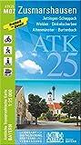 ATK25-M07 Zusmarshausen (Amtliche Topographische Karte 1:25000): Jettingen-Scheppach, Welden, Dinkelscherben, Altenmüns