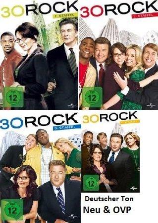 Produktbild 30 Rock Staffel 1-4 (DVD)