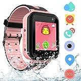 Orologio Intelligente Bambini IP68 Impermeabile - AGPS LBS Smartwatch Bambini, SOS Smart Watch Telefono Touch Screen Allarme Gioco Fotocamera, Orologio Bambini Festa Di Compleanno Regalo Giocattolo