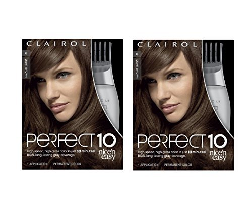 clairol-perfect-10-by-nice-n-easy-hair-color-006-light-brown-chocolate-shake-1-kit-by-clairol