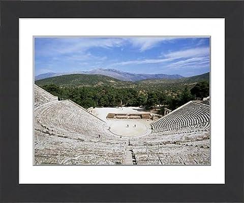 Framed Print of Ancient Greek theatre