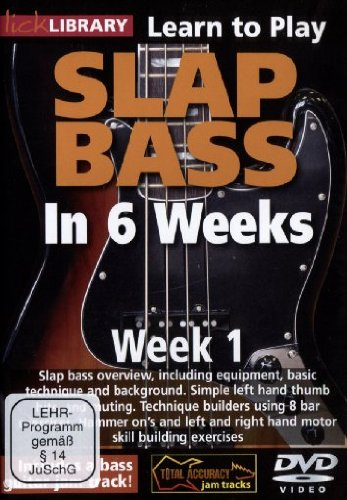 Phil Williams Slap Bass In 6 Weeks - Week 1