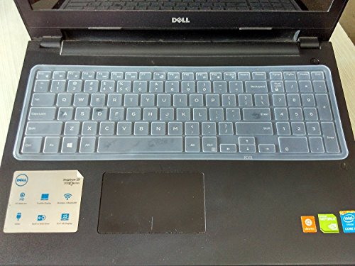 Neon Keyboard Skin for Dell Inspiron (3552), (3558), (3567), (3568), (5558), (5559), (7559), 15.6-inch laptop