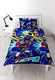 Transformers Hero' juego de cama–diseño de impresión de repetición