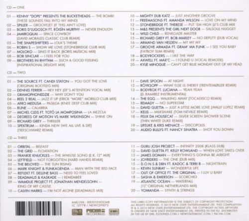 Zoom IMG-1 pacha ibiza classics 3 cd