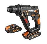 WX390.1 Worx - H3®Taladro / cacciavite / martello 2 batterie 20V - 2,0Ah Li-Ion.