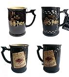 Harry Potter Marauders Map Heat Reactive Heat Changing Ceramic Mug...