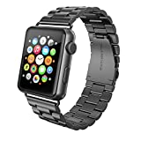 Swees Unisex Edelstahl Armband für Apple Watch 42mm 44mm Series 4/3/2/1