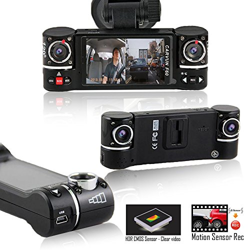 indig® I in Auto Dash Cam Kamera DVR Armaturenbrett Digital Fahren Video Recorder 402 G Professional Full HD 1080p [Bewegungserkennung + Loop Recording + Notfall Datei Schutz] (Kamera Professional Digital Video)