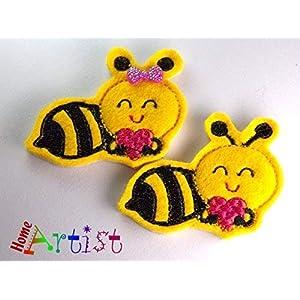 Biene Haarspange für Kleinkinder – freie Farbwahl