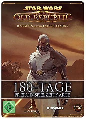 Star Wars : The Old Republic - 180 Tage-Prepaid-Abonnement-Spielzeit-Code [PC Online Code]