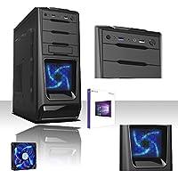 DESKTOP ITEK INTEL QUAD CORE LICENCE WINDOWS AVEC 10 PROFESSIONAL 64 BIT ORIGINAL/WIFI HD/1 TB 1600MHZ SATA III/RAM 8 GO/HDMI-DVI-VGA/USB 3.0/2,0 PC FIXE COMPLET PRÊT A L'EMPLOI POUR LE BUREAU LA MAISON JEUX ITEK CAS35