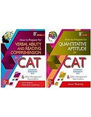 CAT Test Prep combo by Arun Sharma: Quantitative Aptitude and Verbal Ability/Reading Comprehension