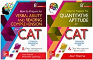 CAT Test Prep combo by Arun Sharma: Quantitative Aptitude and Verbal Ability/Reading Comprehension