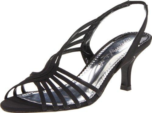 Easy Street Perris Femmes Toile Sandale Black