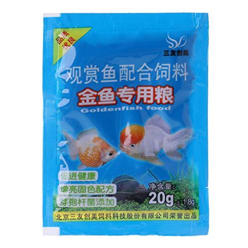 Shinan Fischfutter für Aquarien, tropische Goldfische, gesunde Köstlichkeiten 3 -