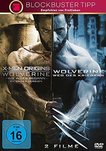 X-Men Origins: Wolverine: Wie alles begann / Wolverine - Weg des Kriegers [2 DVDs]