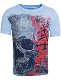 Akito Tanaka Herren T-Shirt Japan Skull Totenkopf Japanisch Asiatisch  Vintage Printshirt 31f8f4f2dc