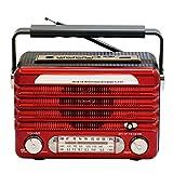 Best Vintage Speakers - JT Vintage/Retro Style Bluetooth Speaker, Portable Wireless Bluetooth Review