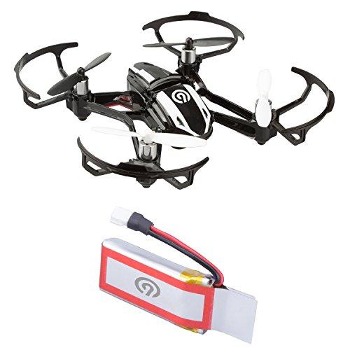 1x Original NINETEC 450mAh Ersatz Akku Batterie für Spyforce1 Mini Video Drohne