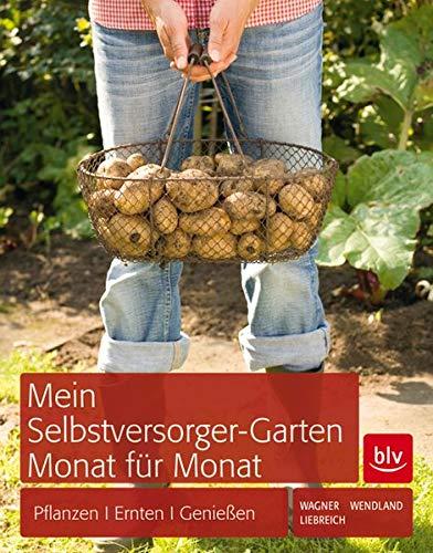 Mein Selbstversorger-Garten Monat für Monat: Pflanzen, Pflegen, Ernten - Mulch Gold
