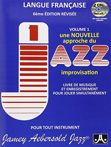 Aebersold 001 Improvisation (Français) + CD par Jamey Aebersold