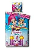 Nickelodeon Bettbezug Shimmer and Shine 140 x 200 cm
