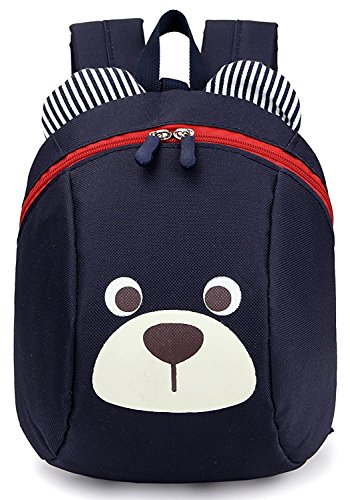 Imagen de  infantil pequeña bebes guarderia perdidos anti arnés de seguridad del perro oso niño niña azul alternativa