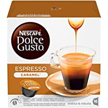 NESCAFÉ Dolce Gusto Espresso Caramel Coffee, Pack of 3 (Total 48 Capsules, 48 servings)