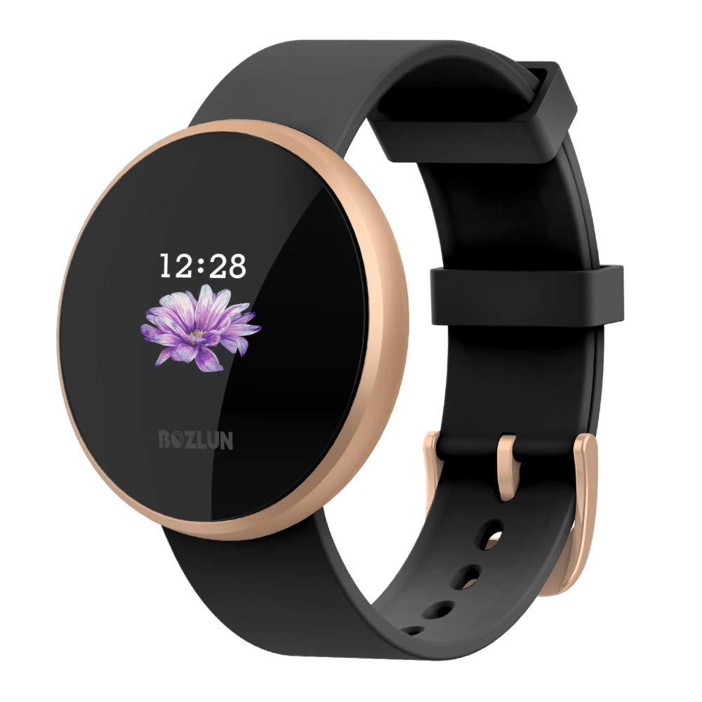 ccd386a33 Reloj Inteligente Mujer,Reloj de Monitor de Ritmo cardíaco con ...