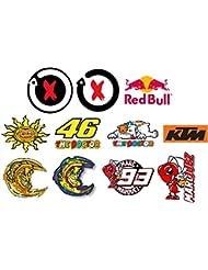 Moto GP autocollants pack