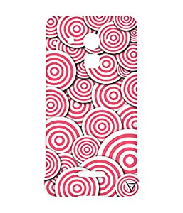 Vogueshell Round Patterns Printed Symmetry PRO Series Hard Back Case for Coolpad Note 3