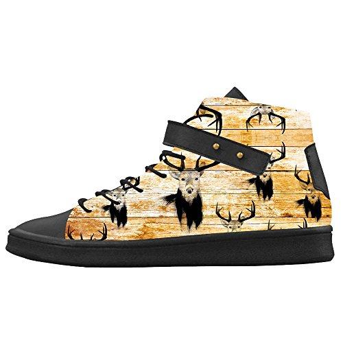 Dalliy kunst hirsch Men's Canvas shoes Schuhe Footwear Sneakers shoes Schuhe D