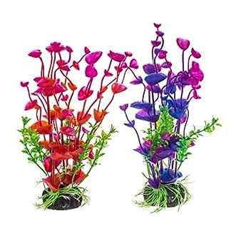 PANYTOW Aquarium Plastic Plants Fish Tank Imitation Sea Urchin Water Aquatic Grass Artificial Plants Decoration for… 20