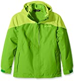 Vaude Kinder Doppeljacke Little Champion 3-in-1 Jacket IV, parrot green, 146/152, 05192