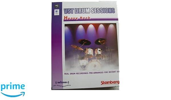 Vst Drum Sessions - Heavy Rock: Amazon co uk: Software