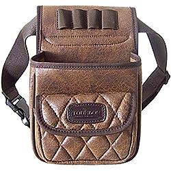 tourbon trampa disparar munición bolsa de almacenamiento Carcasa Funda de piel Vintage 50+