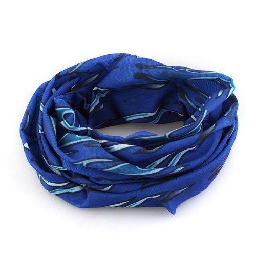 bandana-panuelo-llama-azul-poliester-mtb-ciclismo-bici-moto