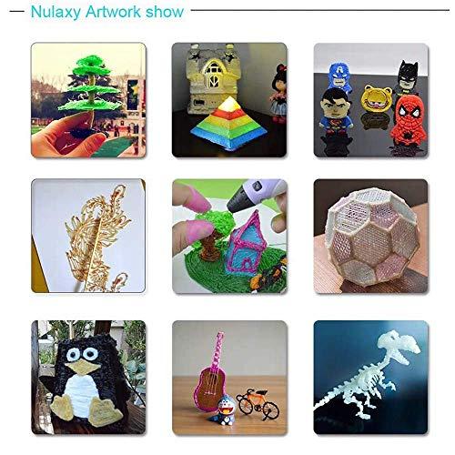 3D Stifte für Kinder, Nulaxy 3D Druckerstifte Roboter Pen mit 6 Farbe 1.75mm PLA Filament Gutes Kinderspielzeug, Geburtstags-und Weihnachtsgeschenke und praktisches Werkzeug für 3D-Drucker Besitzer (Stifte) - 5