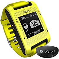 Bryton Amis S430H Orologio intelligente GPS per running ed sensore cadiaco ANT+, giallo