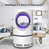 Handfly Lampe Anti-Moustique Anti-Insectes, Insecte électrique Zapper pour intérieur, Lampe de piège à Del alimentée par USB et UV, Anti-Moustique Silencieux pour la Maison intérieure