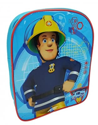 Fireman Sam Plain Value Children's Backpack, 30 cm, 6.5 Liters, Blue - inexpensive UK light shop.
