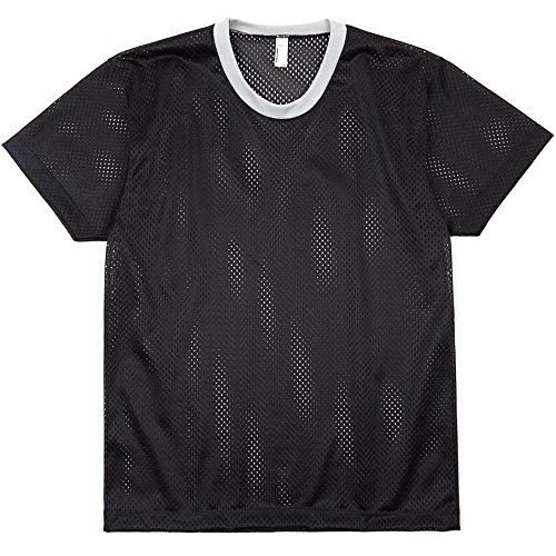 American Apparel Womens/Ladies 100% Poly Mesh Athletic Tank T-Shirt (Tank Mesh Womens)
